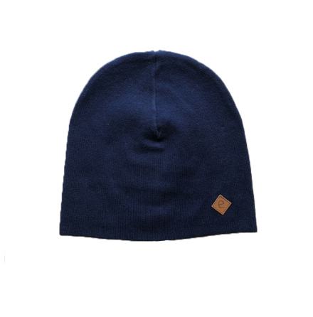 Raw knitted beanie
