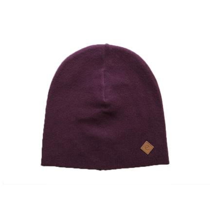 Raw knitted beanie