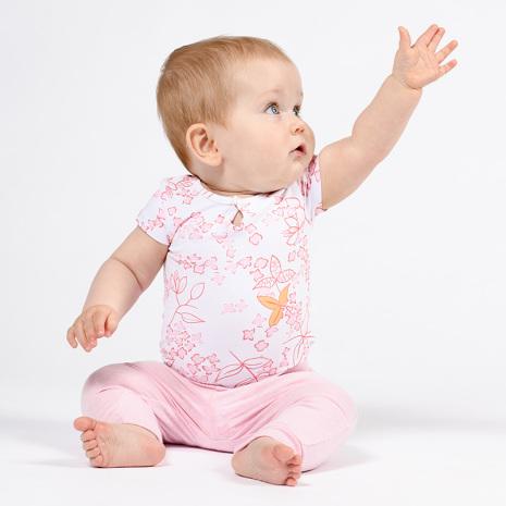 Florina - Mönstrad babybody