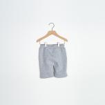 Dandy - Gråmelerade sweatshorts till barn