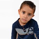 Ike - Långärmad farfarströja till barn