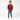 Ivo - Röd långärmad tröja med ebbelogga till barn