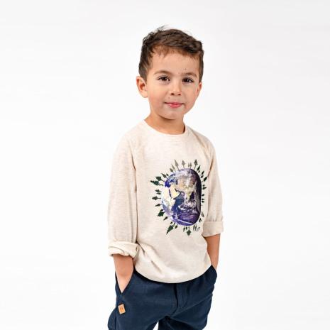 Ivo - Långärmad tröja till barn