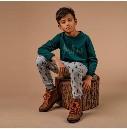 Garland - Grön sweatshirt till barn