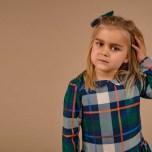 Visla - Rutig klänning till barn & baby
