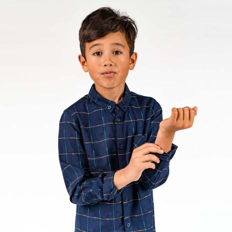 Vollmer - Rutig skjorta till barn
