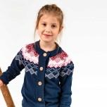 Marcia - Stickad kofta till barn