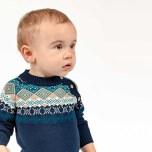 Manolo Stickad Heldräkt till Baby