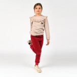 Tallis Sweater med volang