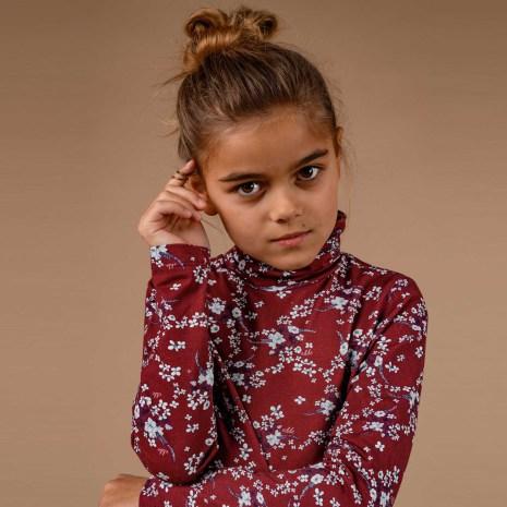 Sanja - Mönstrad polotröja till barn