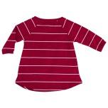 Amber - Randig trikåklänning till barn