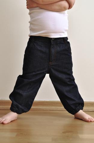 Slacker jeans