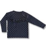 Ivy - Prickig tröja med volang till barn