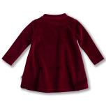 Jaden - Röd klänning i velour till barn & baby