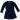 Jalena - Blå klänning i velour till barn