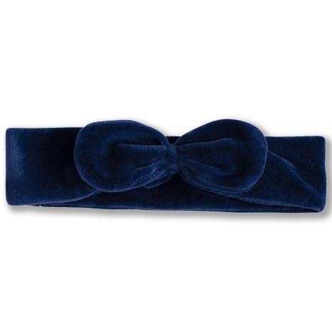 Jaiko - Blått hårband i velour till barn