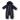 Damon - Marinblå vadderad overall till baby