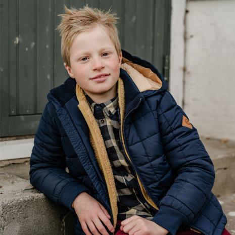 Dane - Vadderad vinterjacka till barn