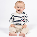 Sammie - Beige chinos till baby