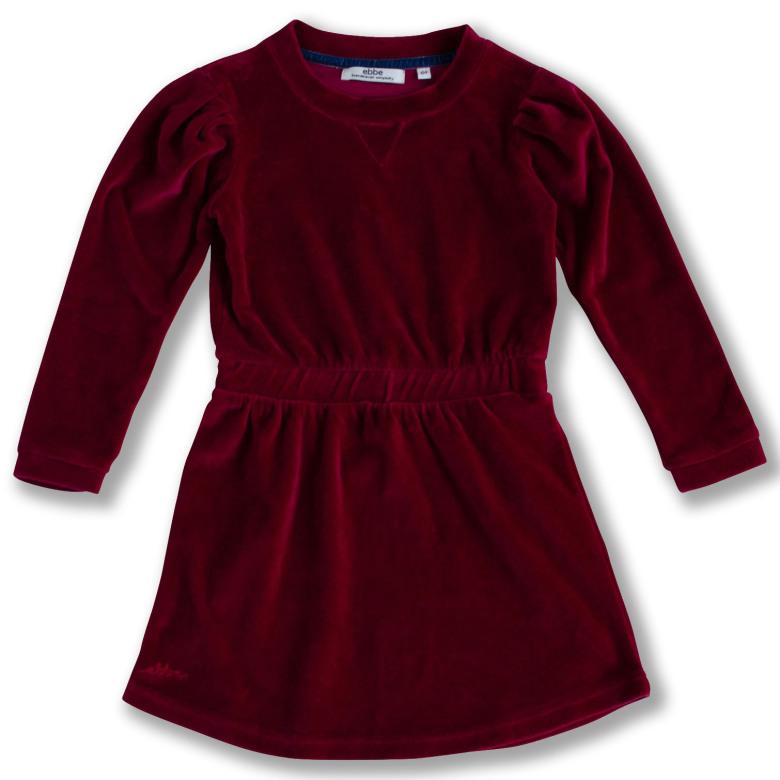velour klänning barn