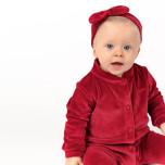 Jaiko - Rött hårband i velour till barn