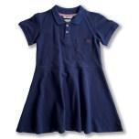 Havanna - Marinblå piké klänning till barn