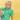 Harper - Grön pikétröja till barn