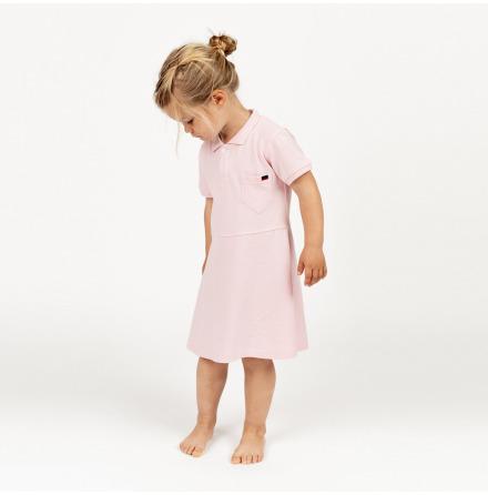 Havanna - Rosa piké klänning till barn