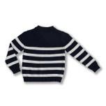 Navarro - Randig stickad tröja till barn