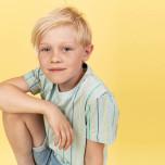 Hunter - Randig t-shirt till barn