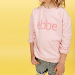 Hidalgo - Rosa sweatshirttröja till barn