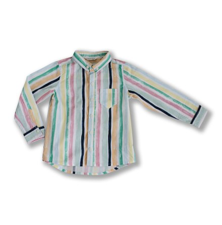 SAMPLE - Alfonso - Randig skjorta till barn