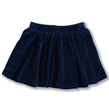 Janelle - Blå kjol i velour till barn