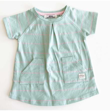SAMPLE - Nova - Randig klänning till baby
