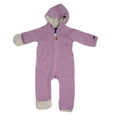 Sice knit fleece suit