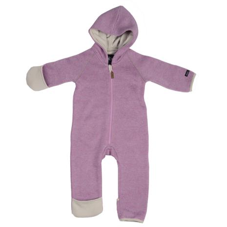Sice knit fleece suit