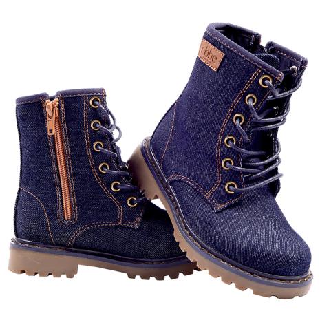 New denim boot