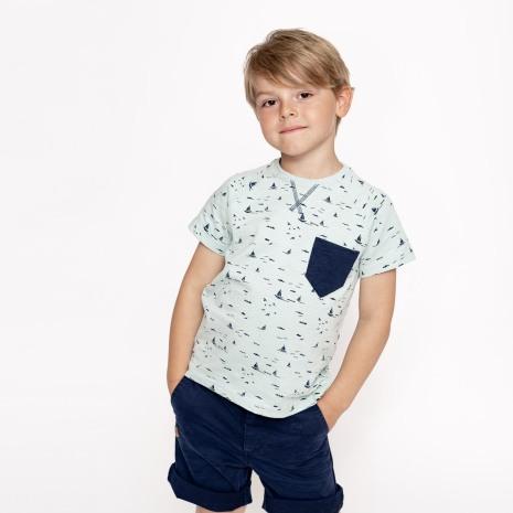 Hector - Helmönstrad t-shirt till barn