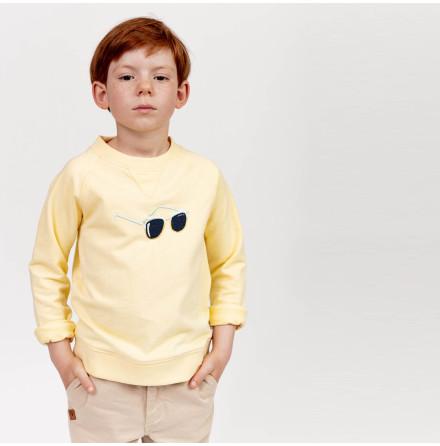 Hidalgo - Gul sweatshirttröja till barn
