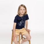 Gilbert - Marinblå t-shirt till barn