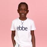 Hendrix - T-shirt med ebbe logga till barn