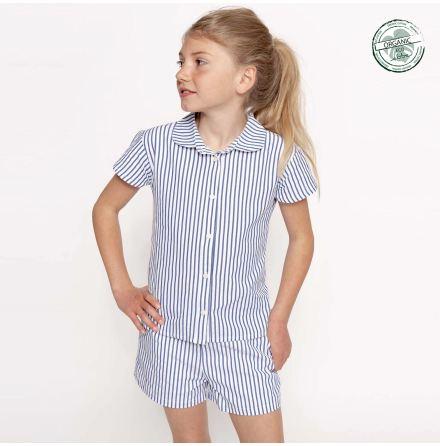 Genova - Randig blus till barn