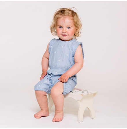 Connie baby romper