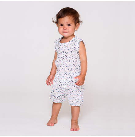 Cling baby romper