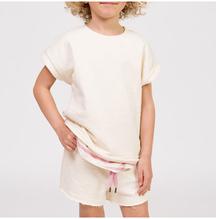 Rose - Kortärmad Sweatshirt