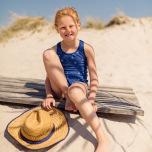 Agnes - Baddräkt till barn, solskyddsfaktorn, UPF 50+