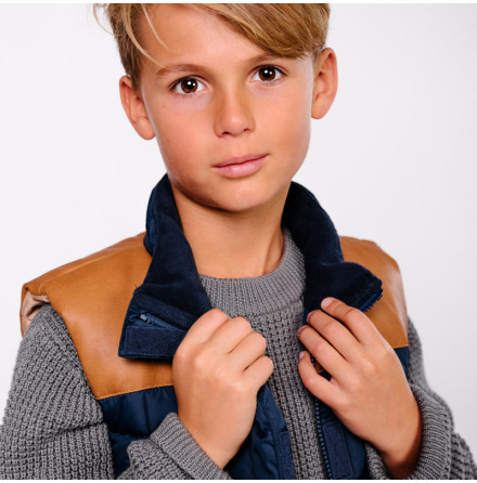 Tibi quilted vest