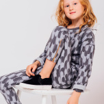Zia feather sweat top